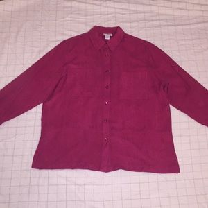 NEW Alfred Dunner plus size Button Down